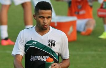 Com dores na coxa, Serginho não deve enfrentar o Avaí, pela Serie B