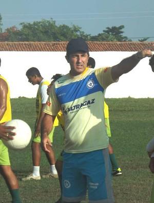Paulo Moroni, treinador do Parnahyba (Foto: Renné Fontenele/ascom)