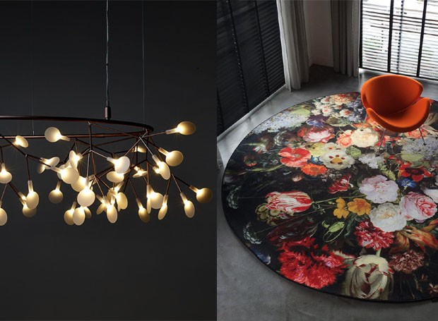 signature-carpets-tapetes-impressao-hd-moooi-milao-design-heracleum-pendente-luminaria.jpg (Foto: Divulgação)