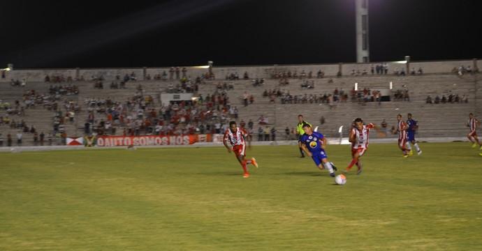 Auto Esporte 2 x 0 Queimadense, pelo Campeonato Paraibano, no Estádio Almeidão (Foto: Hévilla Wanderley / GloboEsporte.com/pb)