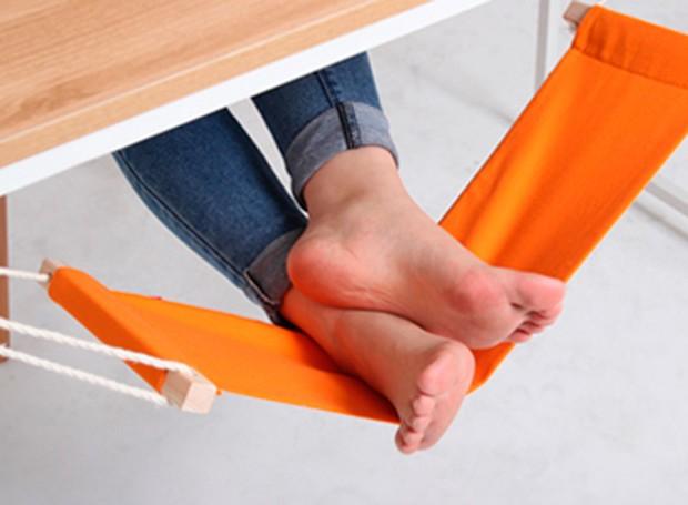 Descanso para pés portátil (Foto: Divulgação)