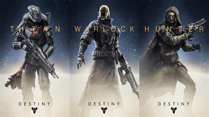 Conheça as classes de Destiny (Foto: Divulgação)
