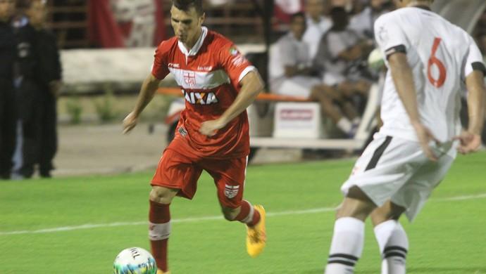 Welinton Júnior, atacante do CRB (Foto: Douglas Araújo / Assessoria CRB)