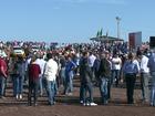 Ato de moradores pede liberação da construção da Usina de Baixo Iguaçu