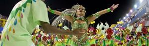FOTOS: Protegidos é a campeã do Carnaval 2014 em Florianópolis (Luiz Evangelista/G1)