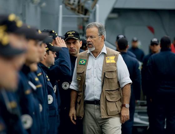 Raul Jungmann ministro da Defesa (Foto:  Pablo JAcob / Agencia O Globo)