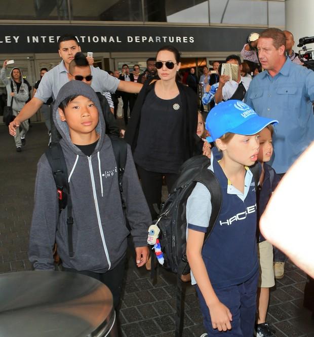 Angelina Jolie e Brad Pitt (Foto: X17)