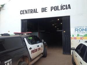 Central de flagrantes da Polícia Militar Porto Velho (Foto: Matheus Henrique/G1)