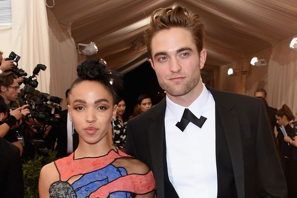 FKA Twigs e Robert Pattinson (Foto: Getty Images)