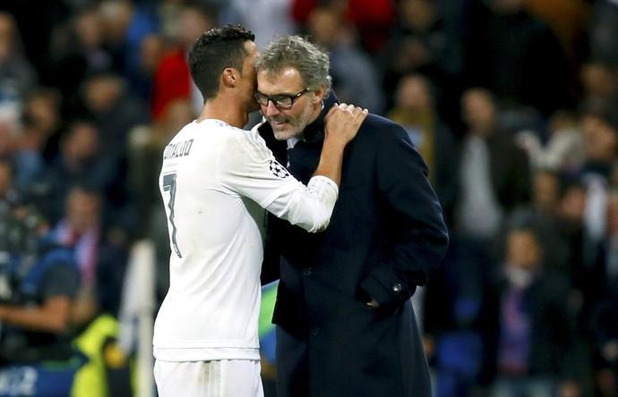 Cristiano Ronaldo Laurent Blanc Real Madrid PSG (Foto: EFE)
