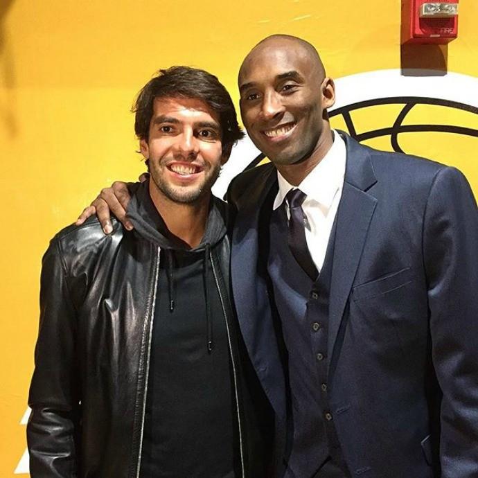 BLOG: Em Los Angeles, Kaká vê derrota dos Lakers e tieta Kobe Bryant