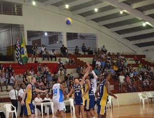 Ourinhos x São José - Paulista feminino de basquete - 3º jogo (Foto: Divulgação/Ourinhos)