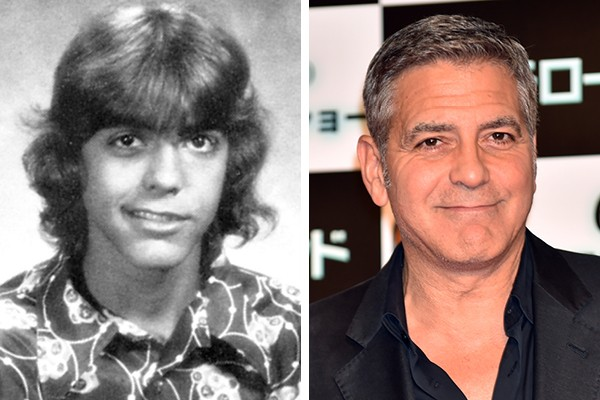 George Clooney mudou muito desde sua infância (Foto: Yearbook Library / Getty Images)