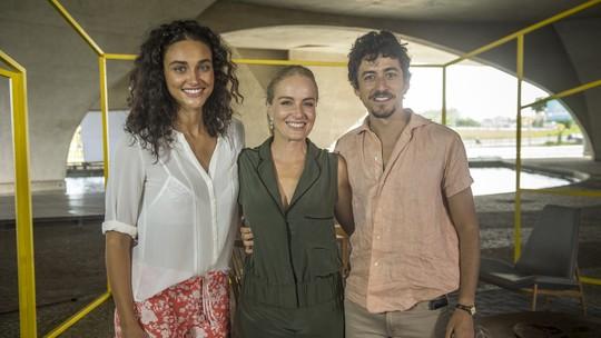 Angélica, Débora Nascimento e Jesuíta Barbosa estão na estreia do 'Estrelas Solidárias'