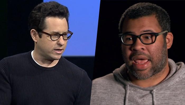 J.J Abrams e Jordan Peele  (Foto: reprodução )