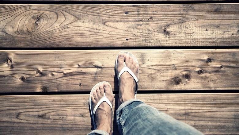 chinelos-de-dedo (Foto: Thinkstock)