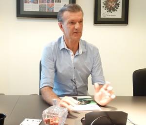 Aron Dresch, canditado à presidência da FMF (Foto: Divulgação)