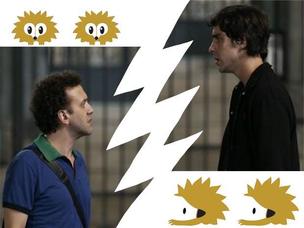 Bóris Roma e Ernesto Avelar (Foto: Fato na Rede)