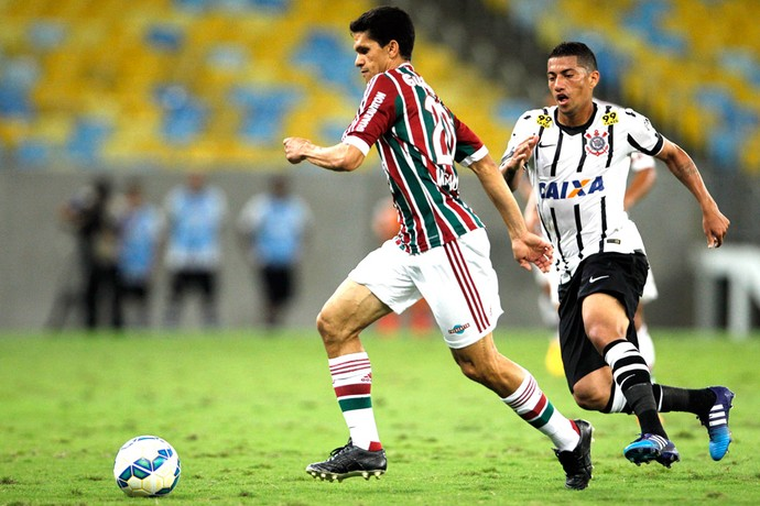 Magno Alves, Fluminense X Corinthians (Foto: André Mourão / Estadão Conteúdo)