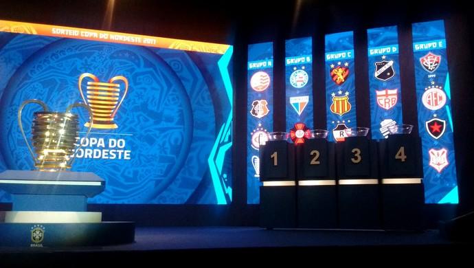 Grupos Copa do Nordeste 2017 (Foto: Hévilla Wanderley/GloboEsporte.com)