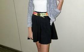 Clara Tiezzi é tão fashion como Mabi