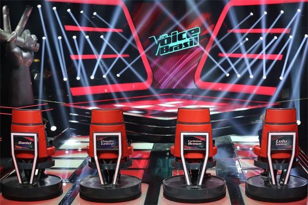 cadeiras estúdio (Foto: Isabella Pinheiro/TV Globo)