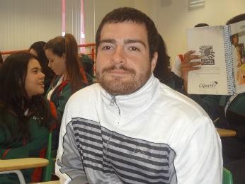 Guilherme vai tentar o vestibular pela segunda vez  (Foto: Adriana Justi / G1)