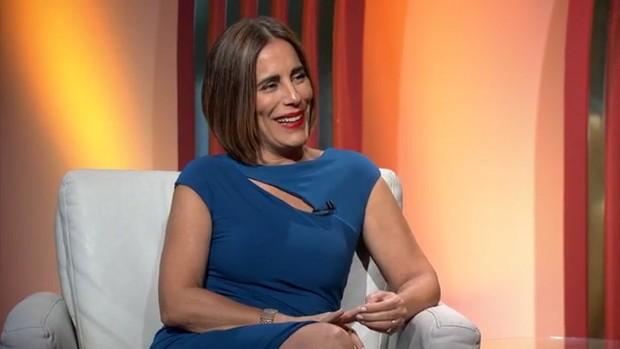 Glória Pires no Oscar (Foto: Reprodução/ TV Globo)