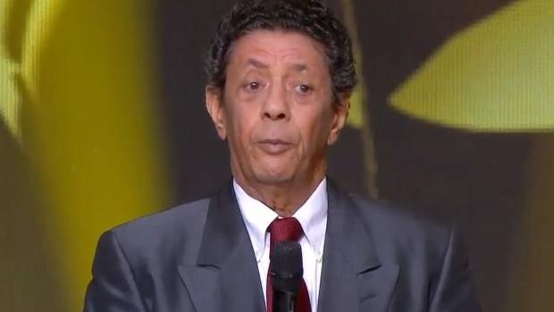 Amarildo na Festa de gala da Fifa (Foto: Reprodução)
