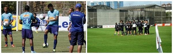Cruzeiro x Corinthias  (Foto: Rodrigo Faber/ Washington Alves/ Vipcomm)