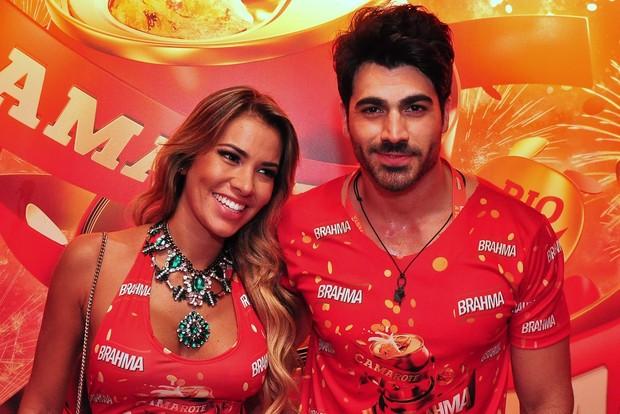 Rodrigao e Adriana (Foto: Roberto Teixeira/EGO)