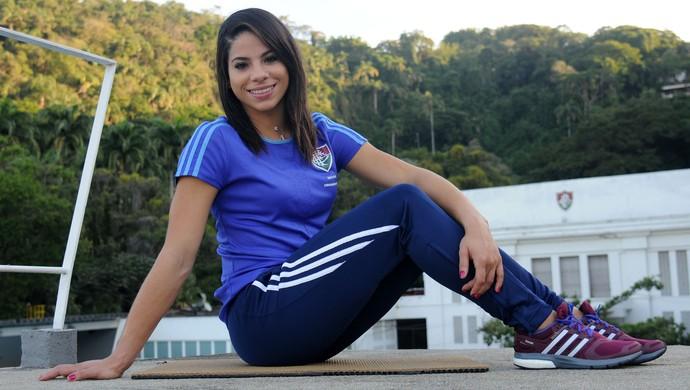Ingrid Oliveira Saltos Ornamentais Pan Fluminense (Foto: André Durão)