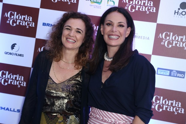 """Carolina Ferraz na estreia """"A Glória e a Graça"""" (Foto: Anderson Borde / AgNews)"""