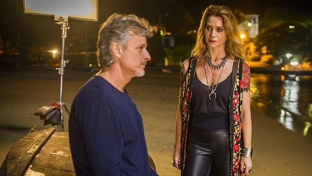 Spiller e Novaes voltam a contracenar em Sol Nascente (TV Globo / João Miguel Júnior)