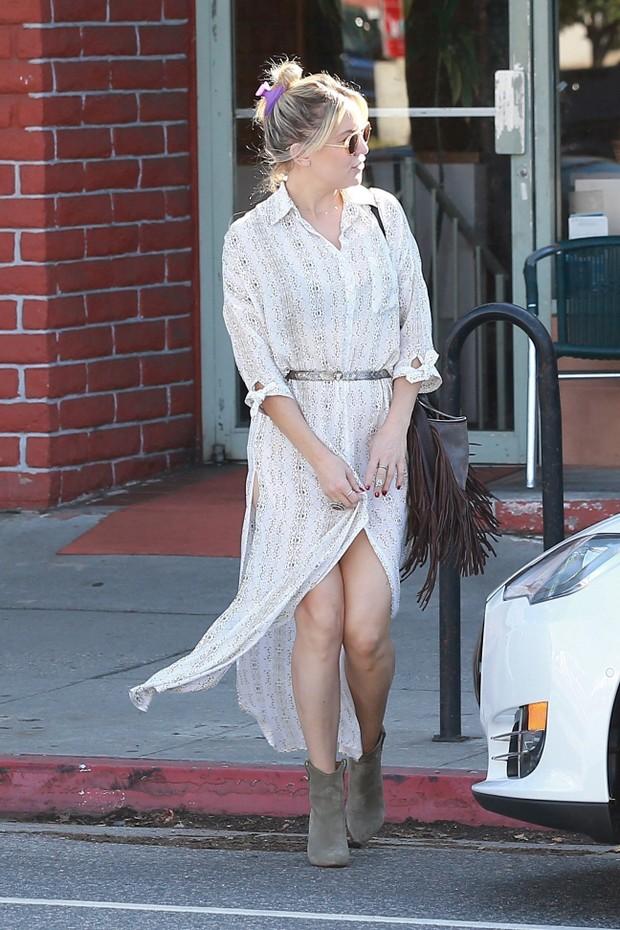 Kate Hudson em Los Angeles, nos Estados Unidos (Foto: AKM-GSI/ Agência)