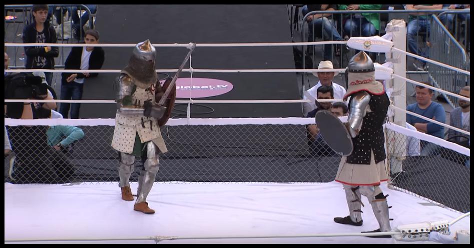 game of thrones da vida real (Foto: M-1 Fights)