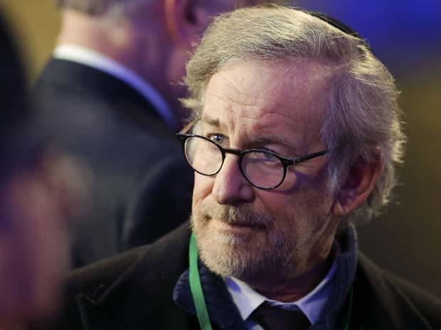O diretor de cinema Steven Spielberg foi um dos particpantes da cerimônia dos 70 anos da libertação do campo de concentração de Auschwitz  (Foto: REUTERS/Laszlo Balogh)