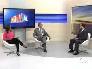 Advogado Felipe Lins em quadro de Direito do BDA  (Foto: Reprodução/TV Gazeta)
