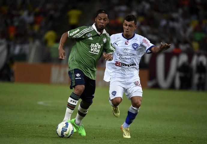 Ronaldinho Gaúcho Fluminense Paysandu (Foto: André Durão / GloboEsporte.com)