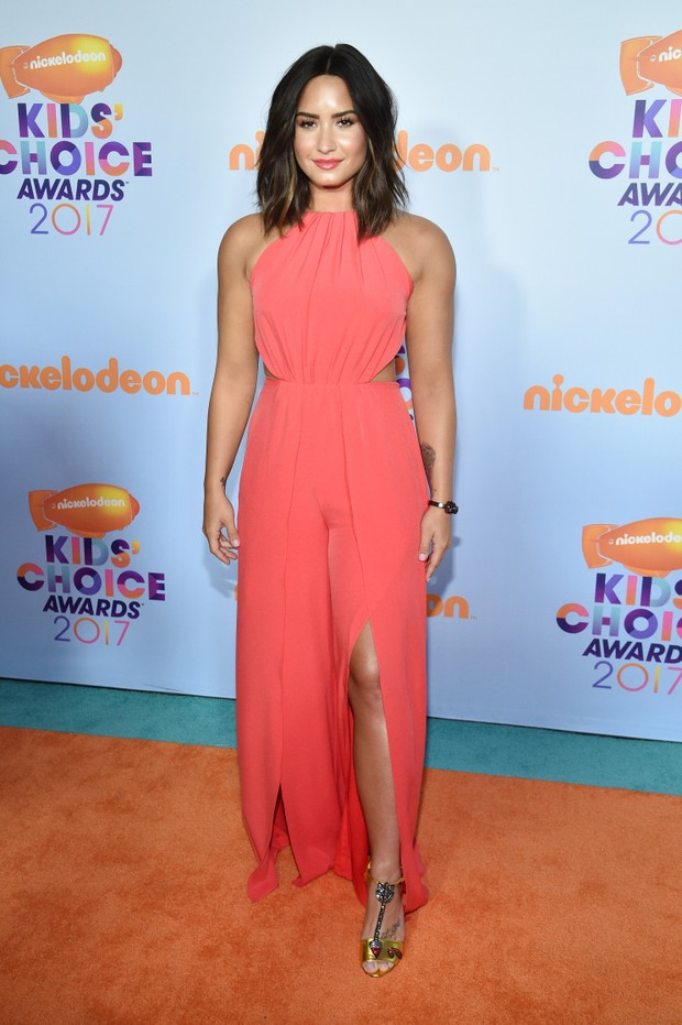Demi Lovato no Kids Choice Awards (Foto: Getty Images)