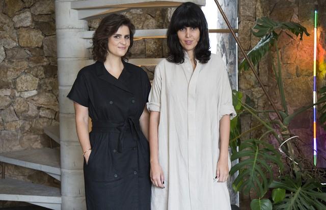 Ana Strumpf e Karina Mota (Foto: Rafael Avancini)