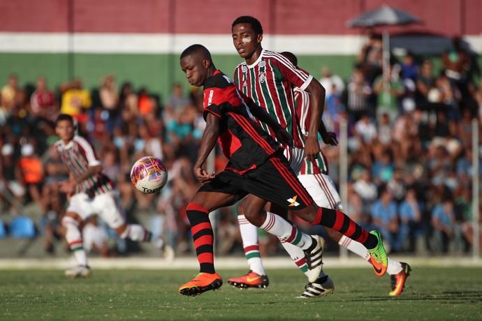 Vinicius Junior Flamengo x Fluminense sub-20 (Foto: Gilvan de Souza/Flamengo)