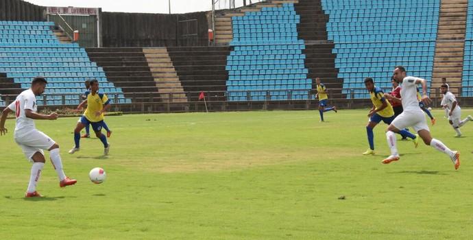 Quero-quero venceu por 5 a 0 o Luziense  (Foto: Divulgação / Novo Esporte Ipatinga)