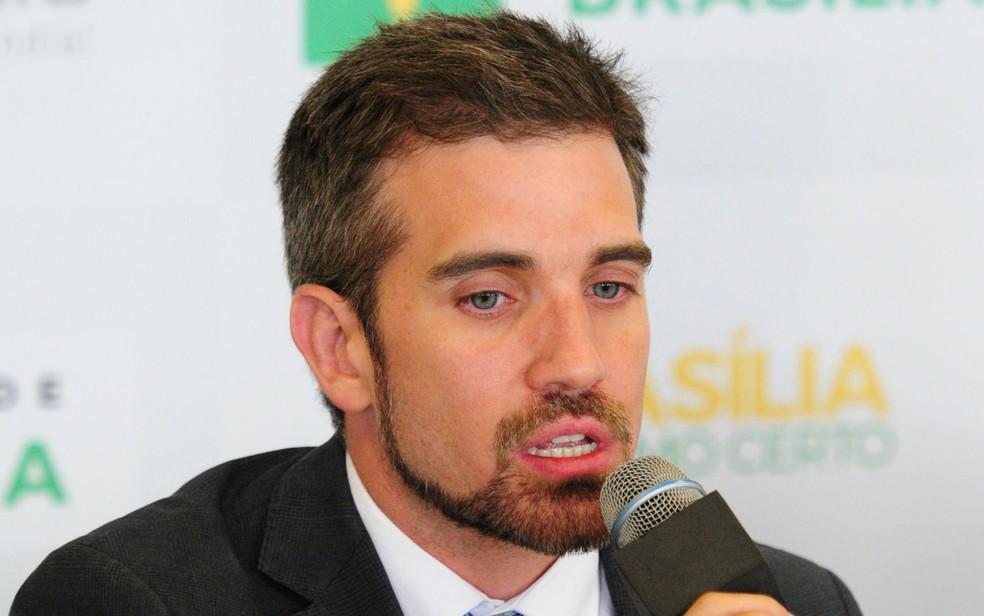 Secretário da Saúde do DF, Humberto Fonseca (Foto: Dênio Simões/Agência Brasília)