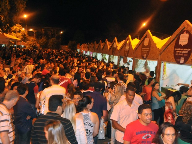 Última edição do Festival de Taquaruçu reuniu vários visitantes  (Foto: Valerio Zelaya/Secom Palmas)