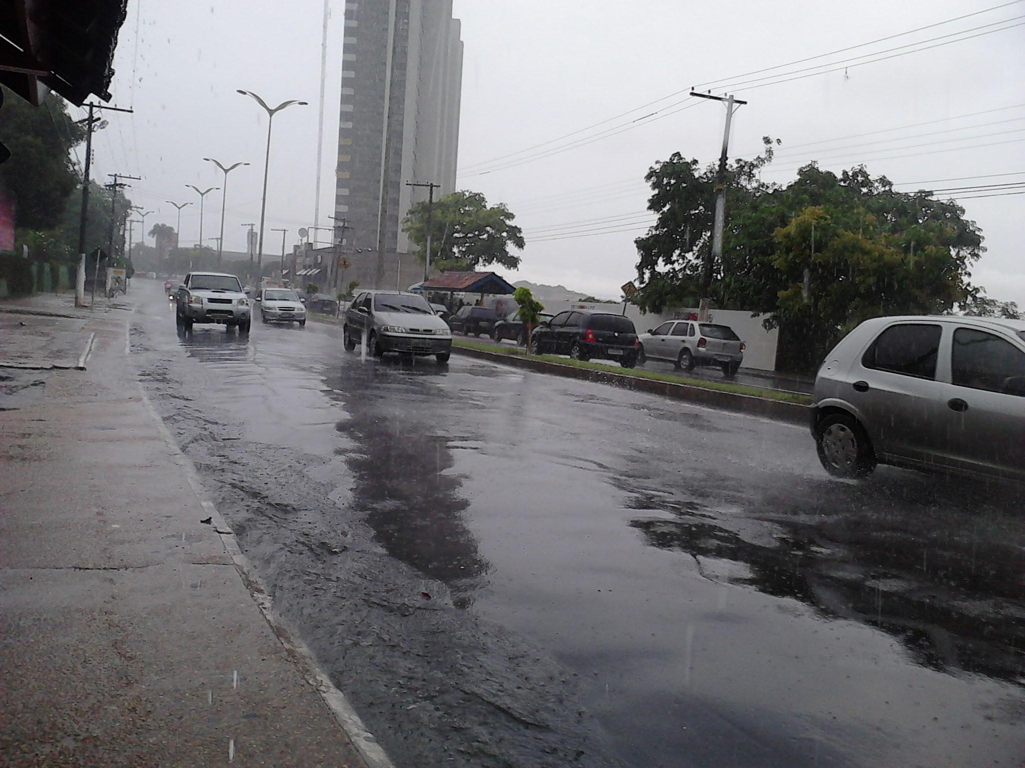 Inmet prevê aumento de chuvas no Amazonas. (Foto: Girlene Medeiros/G1 AM)