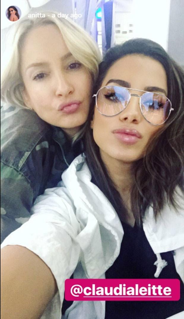 Anitta e Claudia Leitte (Foto: Reprodução)