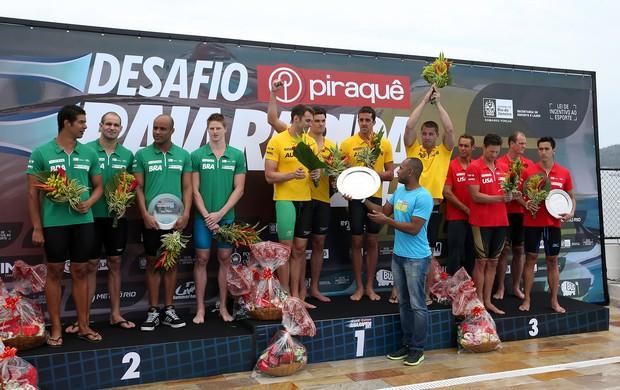 raia rápida natação pódio australia brasil (Foto: Satiro Sodré/SS Press)