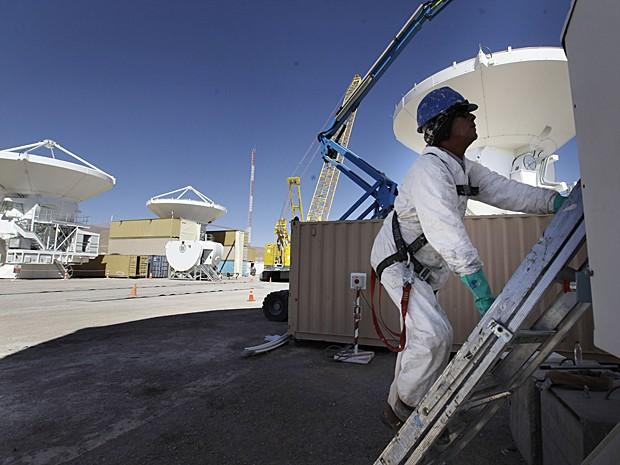 Telescópio Alma Chile (Foto: Jorge Saenz/AP)