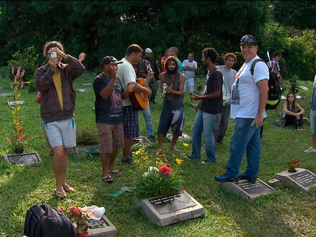 Aniversário de morte de Raul Seixas (Foto: Imagem/TV Bahia)